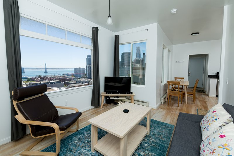 Newly renovated 1 bedroom North Beach available monthly, alquiler vacacional en San Francisco