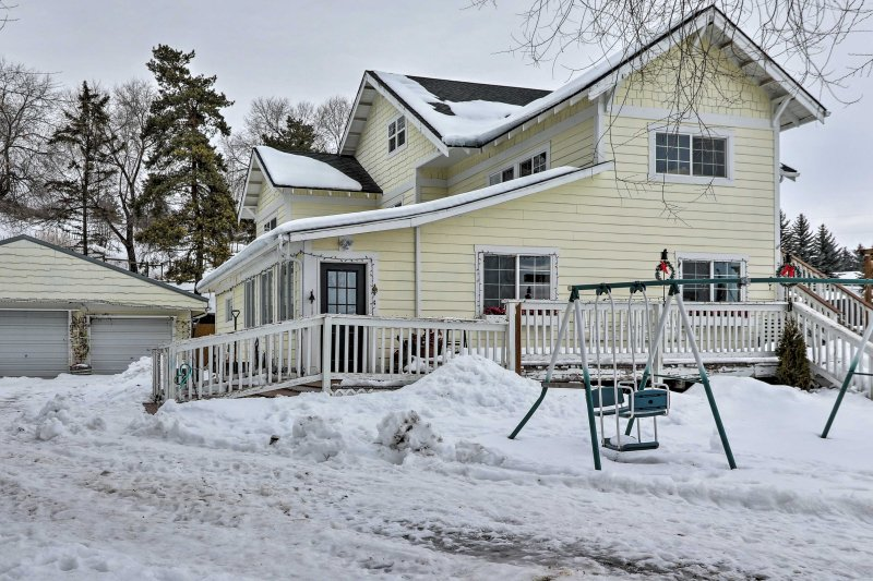Make your way to Glacier National Park and stay at this vacation rental apartment!