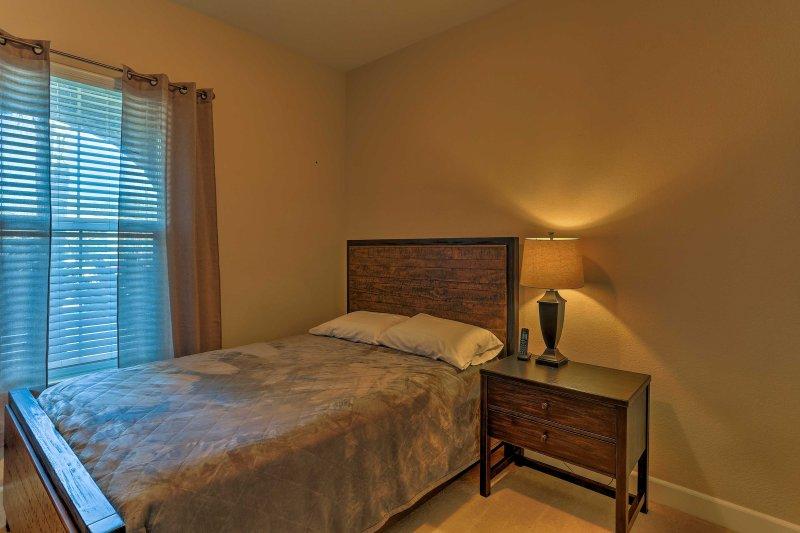 Dos más se puede dormir cómodamente en la reina en el dormitorio 3.