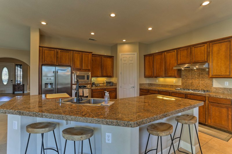Plan your next family trip to this beautiful 3-bedroom, 2-bath vacation rental house in Redding.