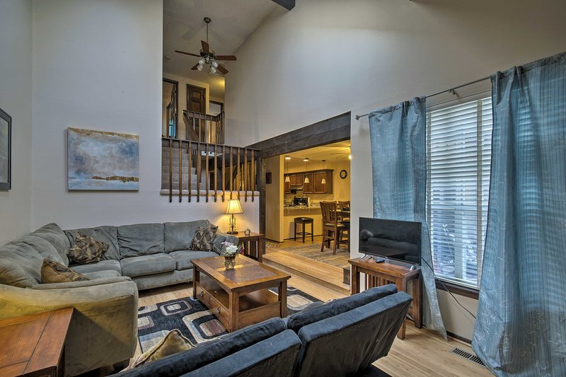 Explore the Denver Area when you stay at this vacation rental home in Littleton!