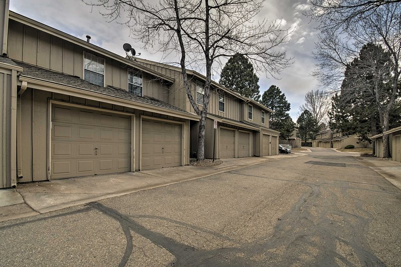The townhome is near the Light Rail station, Aspen Grove and downtown Littleton!