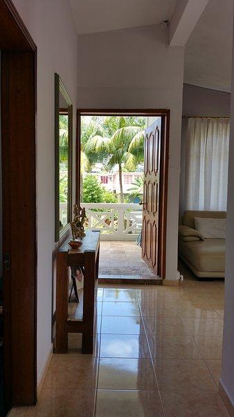 Couloir vers terrasse