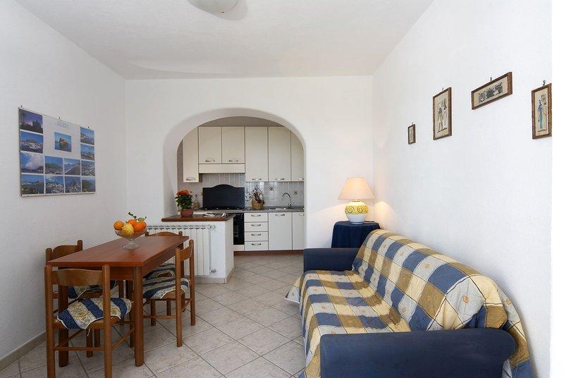 Appartamento Bilocale a Forio Ischia con Vista Panoramica, vacation rental in Forio