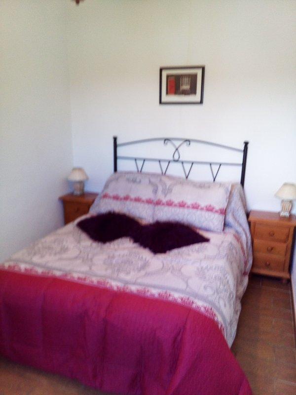 Kayenne ett sovrum med luftkonditionering