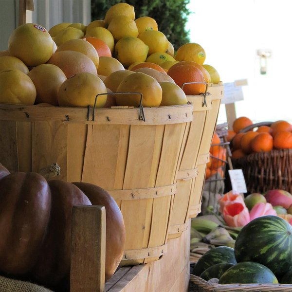 Grab some delicious fresh fruit from one of the many local markets in Ganges!