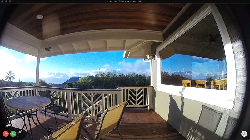 Enjoy fabulous views from the sheltered and comfortable second story deck.