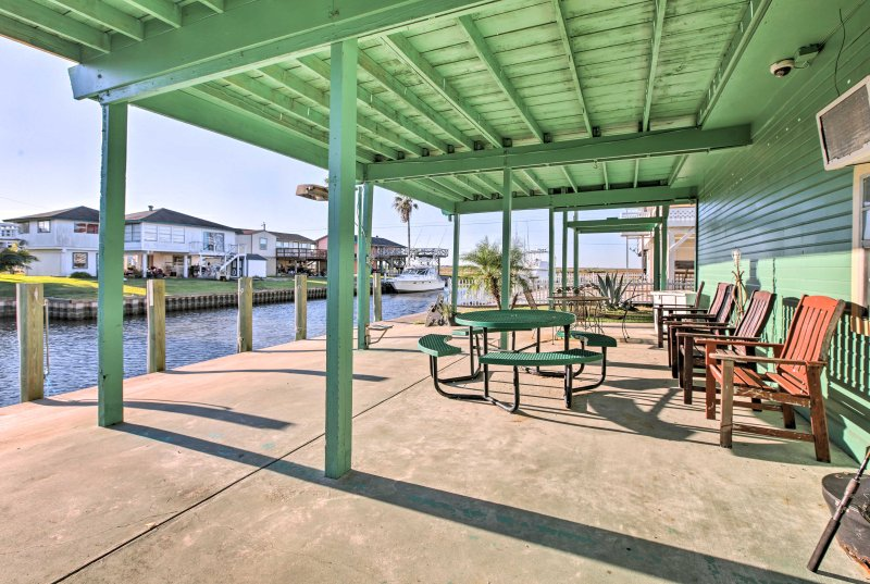 Spend days exploring the waters of Oyster Creek and the Gulf of Mexico.