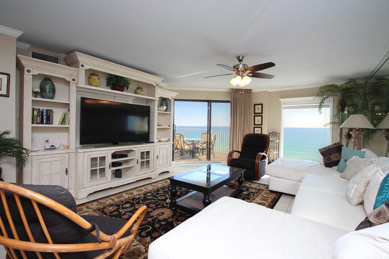 Centrally located on the very top floor this unit boasts Gulf Front views throughout!