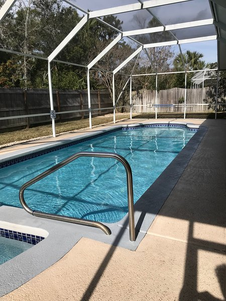 Large, beautiful, heated pool