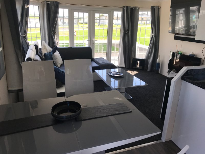 Large lounge looking out to park and county side.