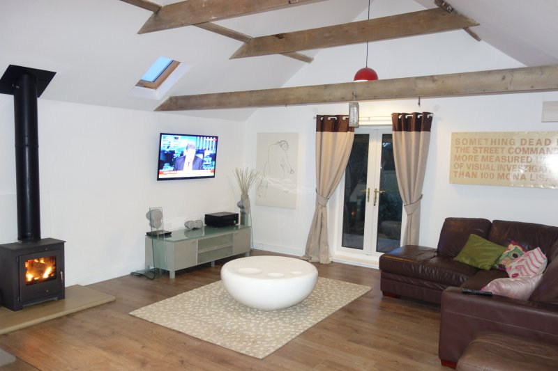 Common Cottage luxury holiday rental - East Coast with Free Wifi & Local Fishing, Ferienwohnung in Saltfleet