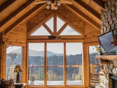 Great room, great windows, great view.