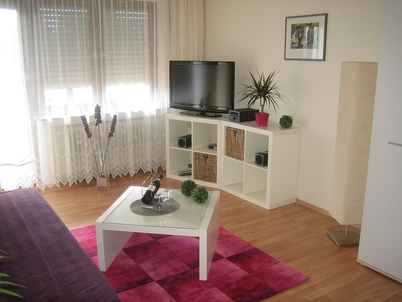 Obergeschoss (45 qm) im Apartmenthaus-Abendsonne - Haus mit 5 Ferienwohnungen, holiday rental in Bendorf