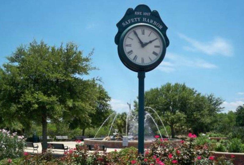 El centro histórico de Safety Harbor - A dos cuadras