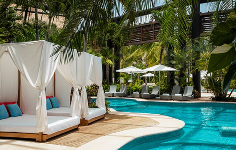 Explore over 1000 acres of paradise, dotted with pristine pools and bordered by magnificent beach