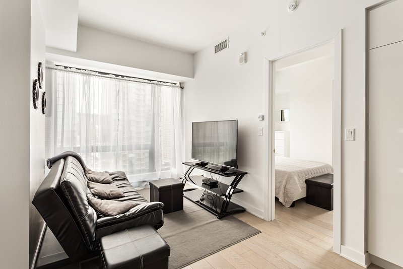 In the heart of downtown Montreal, vacation rental in Montreal