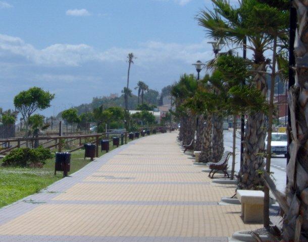 Benajarafe's Promenade