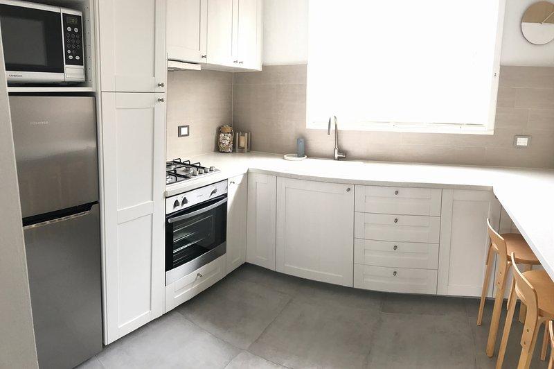 Newly renovated coastal kitchen