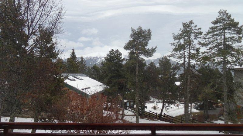 vue du balcon (par mauvais temps !)