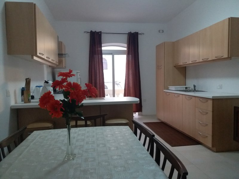Kitchen - Dining with all appliances. Well lighted room, spacious and airy.