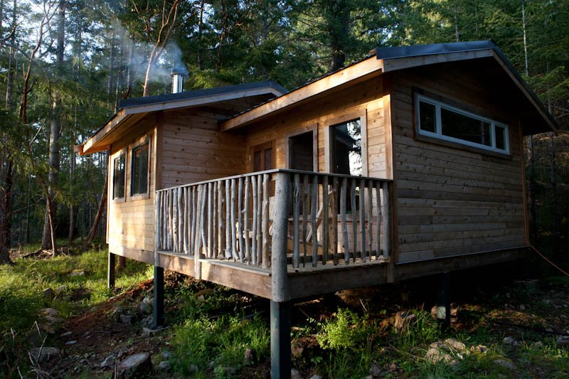 The Arbutus cabin