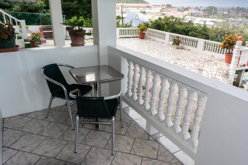 Sea-view balcony