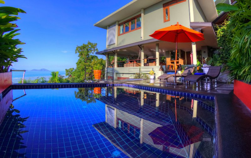 Stunning ocean views from Villa Emerald