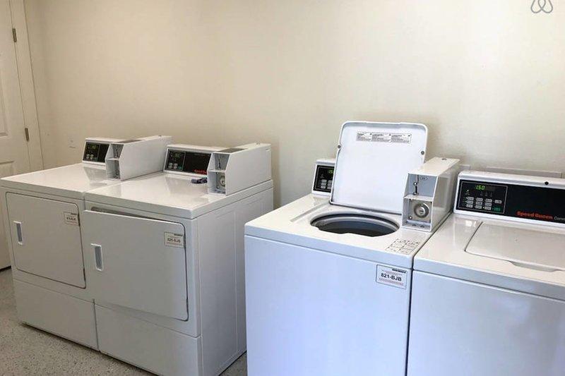 máquinas de lavandería