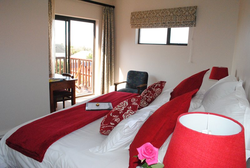 A lovely kingsize bed or 2 single beds with your own balcony
