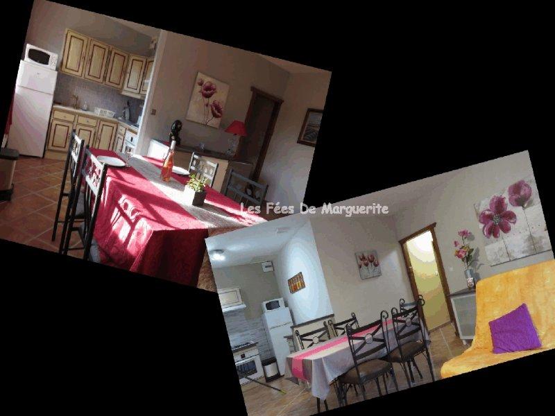Les Fées de Marguerite à La Bourboule 2 appartements = 12 personnes, holiday rental in Singles