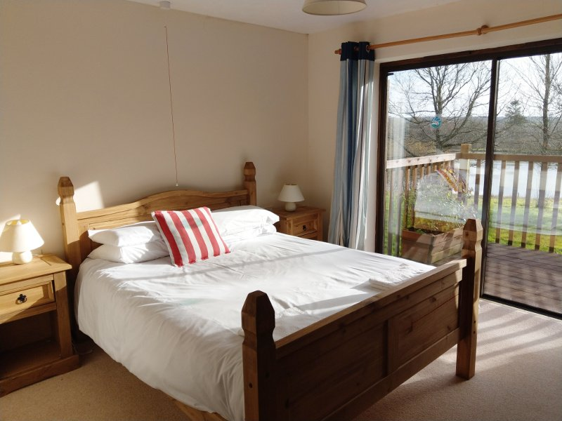 Chaffinch Lodge is one of eight fully-accessible lodges set in over 10 acres of Devon countryside.
