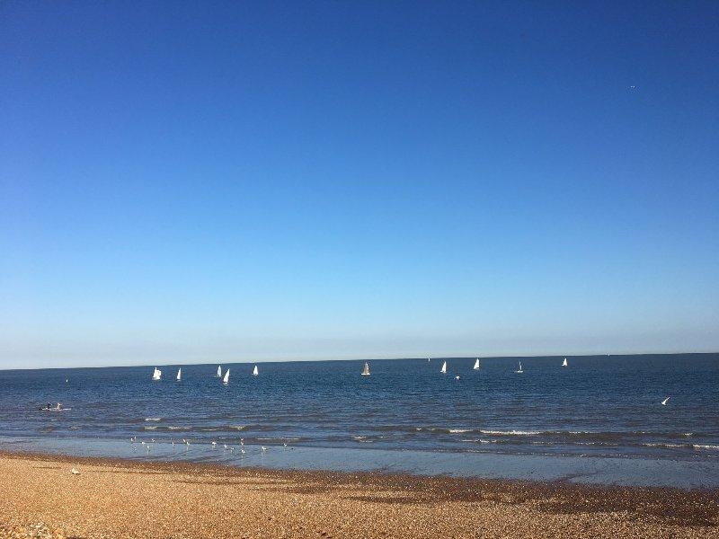 Sailing club at Hythe