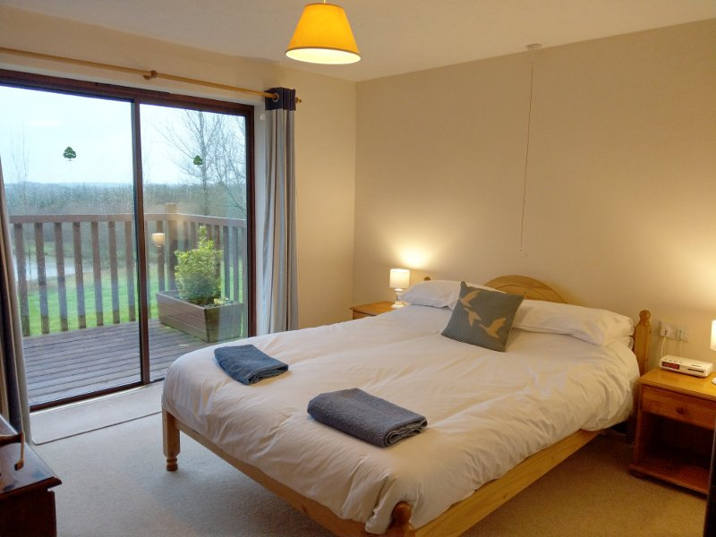Curlew Lodge is one of eight fully-accessible lodges set in over 10 acres of Devon countryside.