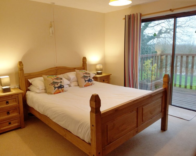 Kingfisher Lodge is one of eight fully-accessible lodges set in over 10 acres of Devon countryside.