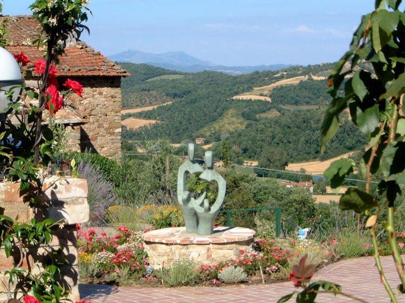 Podere Borgacciano + Cantina, Ferienwohnung in Pistrino