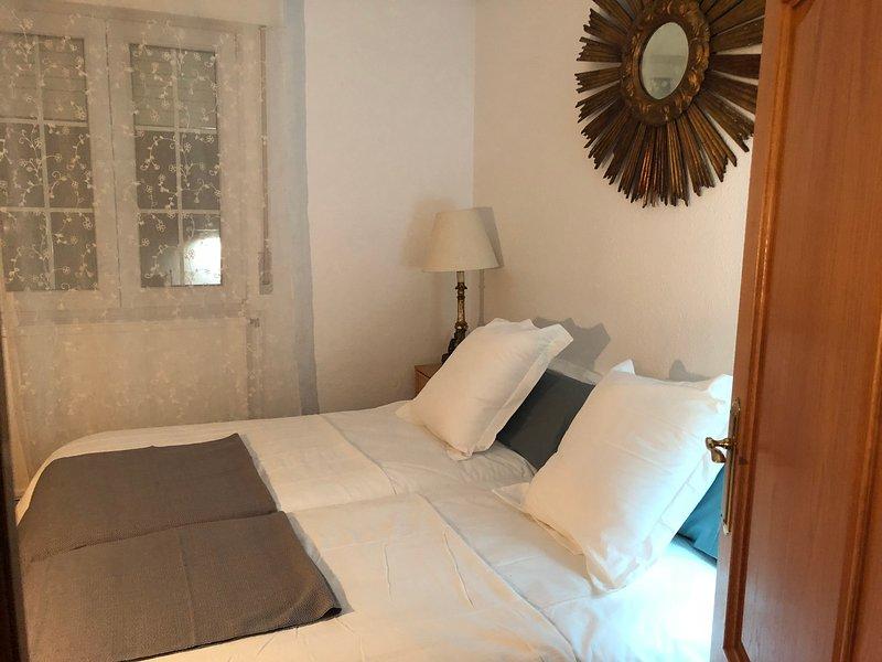 Dormitorio doble dos camas