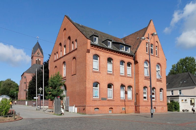 historic administration building Lütgendortmund
