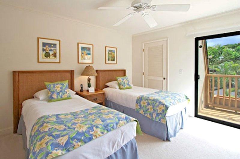 Einzelbetten im 2. Schlafzimmer