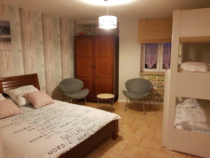 Chambre familale : Folia, location de vacances à Metz