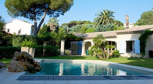93972 villa, 3 airconditioned bedrms, pool 12 x 6m, 200 mtr. from Nartelle beach, holiday rental in Sainte-Maxime