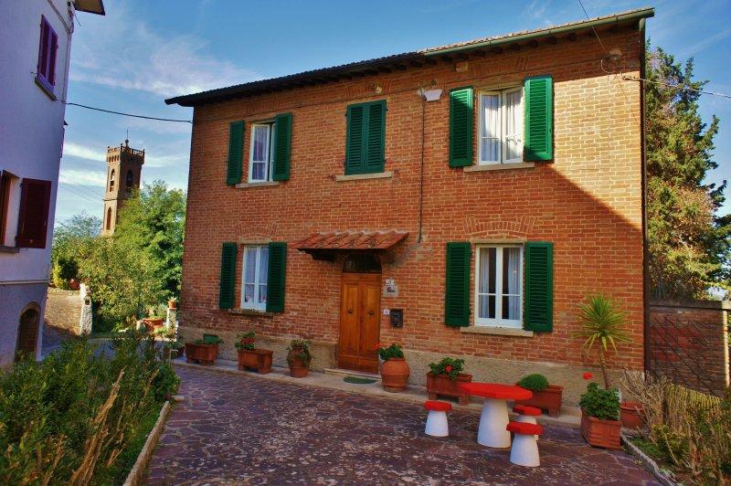 Casa Fonte di Bacco - Triple room, vakantiewoning in San Miniato