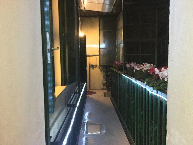 balkon lift landing