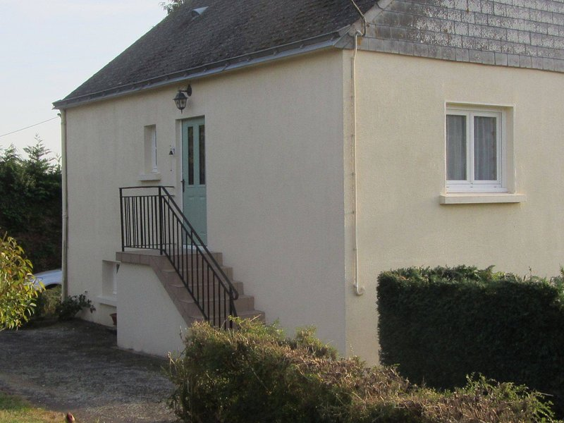 Un chalet récemment rénové au coeur d'un petit village dans le Morbihan en Bretagne.