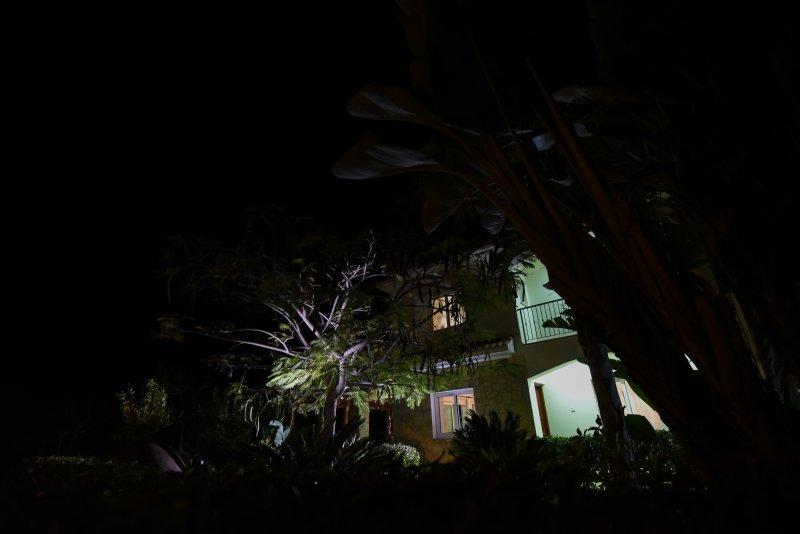 Villa Gardenia by Night!
