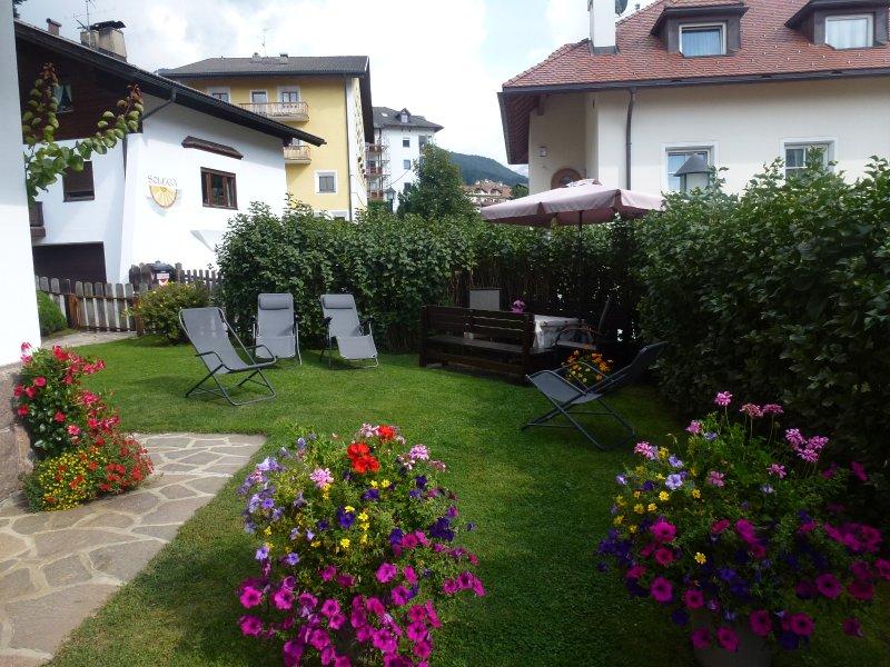 Jardin Cesa Rabanser Appartements à Ortisei Val Gardena Dolomites Italie