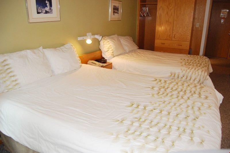 Ottenere una buona notte di sonno nella camera matrimoniale.