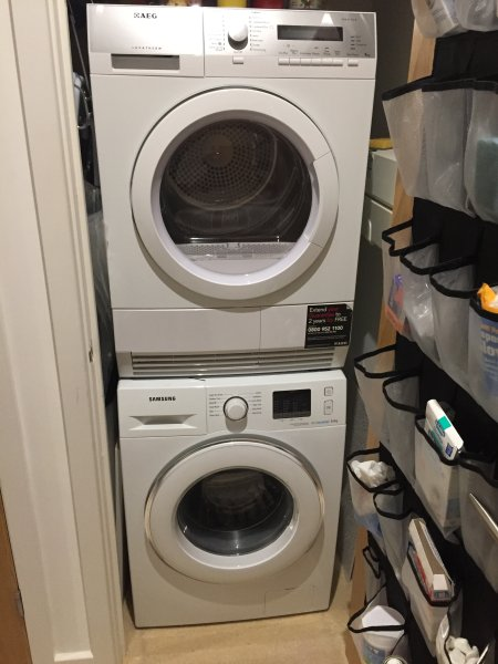 New Laundry Equipment