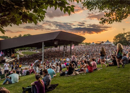 Concerts at Bethel Woods Center for the Arts - where Woodstock happened in 1969