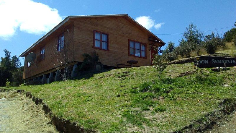 Cabaña en carretera austral, location de vacances à Puerto Montt